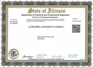 Agency License Expire 2023.