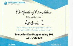 Certificate IKS MB.